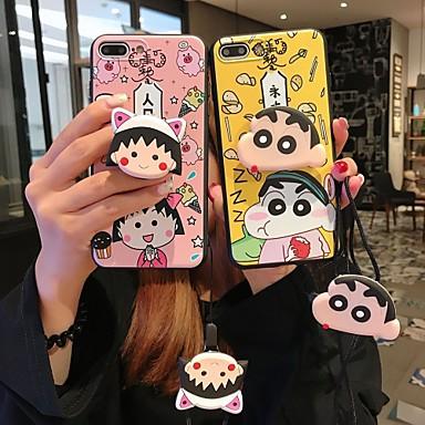 voordelige iPhone 7 hoesjes-hoesje Voor Apple iPhone XS / iPhone XR / iPhone XS Max met standaard Achterkant Cartoon Zacht Siliconen