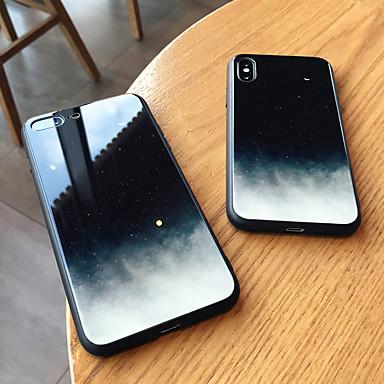 voordelige iPhone-hoesjes-hoesje Voor Apple iPhone XS / iPhone XR / iPhone XS Max Spiegel Achterkant Hemel Hard Gehard glas
