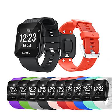 voordelige Smartwatch-accessoires-Horlogeband voor Forerunner 35 Garmin Sportband / DHZ Gereedschap Silicone Polsband