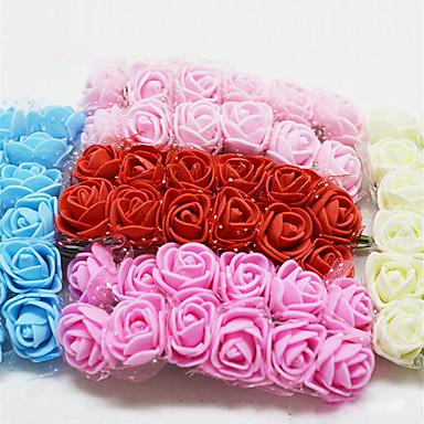 زهور اصطناعية 1 فرع كلاسيكي الزفاف Wedding Flowers الورود
