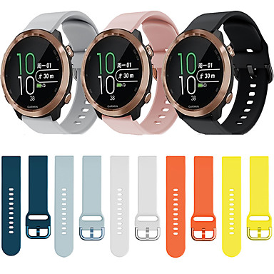 cheap Mobile Phone Accessories-Watch Band for Vivomove HR / Vivoactive 3 Garmin Sport Band Silicone Wrist Strap