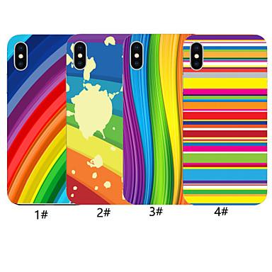 voordelige iPhone-hoesjes-geval voor apple iphone xr / iphone xs max patroon achterkant kleurverloop zachte tpu voor iphone x xs 8 8 plus 7 7 plus 6 6 plus 6s 6s plus