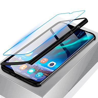 Недорогие Чехлы и кейсы для Galaxy А-Кейс для Назначение SSamsung Galaxy A6 (2018) / A6+ (2018) / Galaxy A7(2018) Защита от удара / Ультратонкий / Матовое Чехол Однотонный Твердый ПК