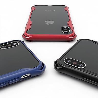 voordelige iPhone 6 hoesjes-hoesje Voor Apple iPhone XS / iPhone XR / iPhone XS Max Schokbestendig / Transparant Achterkant Effen / Transparant Hard TPU / PC
