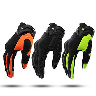 volledige vinger unisex motorhandschoenen vezel antislip / ademend / lichtgewicht