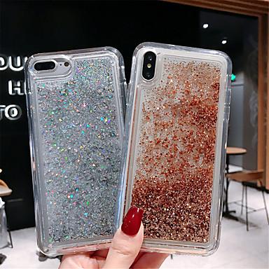 hoesje voor apple iphone xs max / iphone x patroon / vloeiende vloeistof achterkant kleurverloop zachte tpu voor iphone 6 / iphone 6 plus / iphone 6s / 6splus / 7/8/7 plus / 8 plus / x / xs / xr / xs
