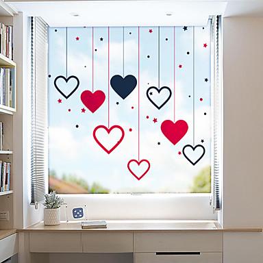 رخيصةأون الستائر-فيلم نافذة وملصقات زخرفة معاصر / هندسي شخصية PVC ملصق النافذة / ضد الانعكاس