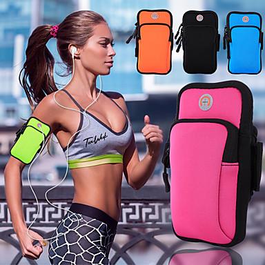Недорогие Универсальные чехлы и сумочки-неопреновый пакет на открытом воздухе дайвинг спорт фитнес-сумка для мобильного телефона водонепроницаемый унисекс 6 дюймов или меньше