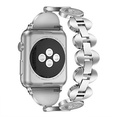 voordelige Smartwatch-accessoires-Horlogeband voor Apple Watch Series 4/3/2/1 Apple Sieradenontwerp Metaal Polsband