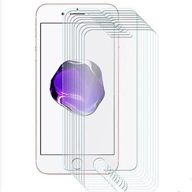 olcso iPhone 8 Plus képernyővédő fóliák-AppleScreen ProtectoriPhone 8 Plus High Definition (HD) Kijelzővédő fólia 10 db Edzett üveg