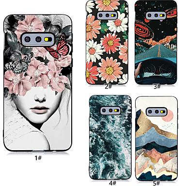 povoljno Maske/futrole za Galaxy S seriju-Θήκη Za Samsung Galaxy S9 / S9 Plus / S8 Plus Uzorak Stražnja maska Seksi dama / Cvijet Mekano TPU