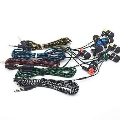ieftine Aurii cu fir cu fir-LITBest 01 Cablu de intrare în ureche Cablu Cu controlul volumului Telefon mobil