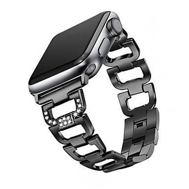 preiswerte Smartwatch-Zubehör-Uhrenarmband für Apple Watch Series 4/3/2/1 Apple Schmuckdesign Metall Handschlaufe