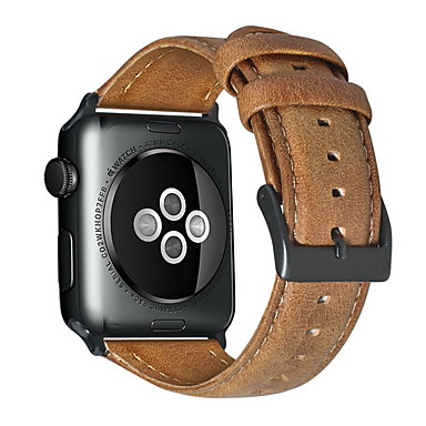 cheap Smartwatch Accessories-Watch Band for Apple Watch Series 5/4/3/2/1 Apple Classic Buckle / Business Band Genuine Leather Wrist Strap