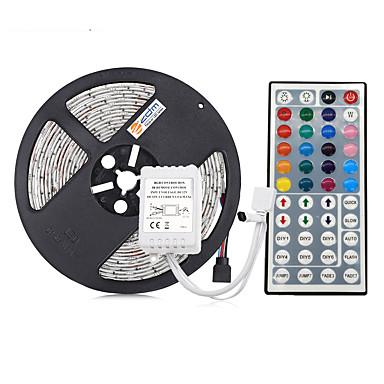 olcso RGB szalagfények-5m rugalmas LED-es fénycsíkok / világítókészletek / rgb-sávú lámpák