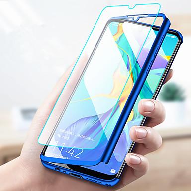 رخيصةأون Huawei أغطية / كفرات-غطاء من أجل Huawei Huawei P20 / Huawei P20 Pro / Huawei P20 lite ضد الصدمات / نحيف جداً / مثلج غطاء كامل للجسم لون سادة قاسي الكمبيوتر الشخصي / P10 Plus / P10 Lite / P10