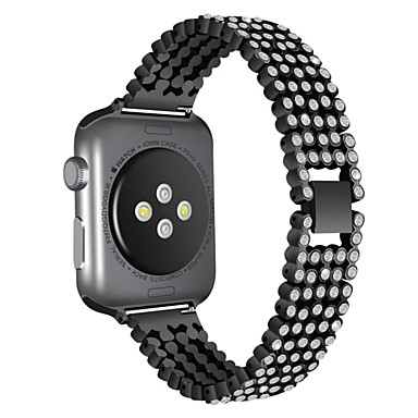 povoljno Apple Watch remeni-Pogledajte Band za Apple Watch Series 4/3/2/1 Apple Moderna kopča Nehrđajući čelik Traka za ruku