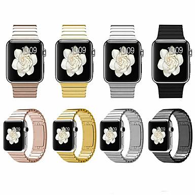 Недорогие Аксессуары для смарт-часов-SmartWatch группа для Apple Watch серии 4/3/2/1 мода из нержавеющей стали классическая пряжка спортивная группа ремешок iwatch