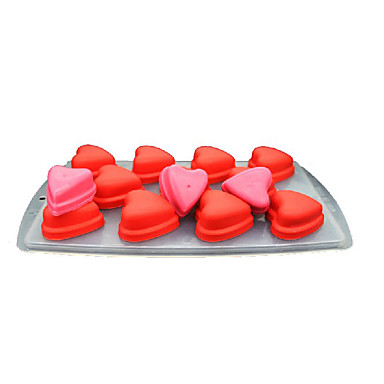 povoljno Pribor za pečenje i gadgeti-1pc plastika silika gel 3D Led Čokoladno smeđa Led za tortu Pribor za pečenje Bakeware alati