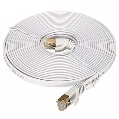 povoljno Ethernet kablovi-Ethernet kabel cat7 mrežni kabel ravan kabel patch kabel 20m