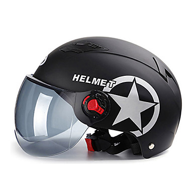 olcso Bukósisakok & maszkok-fél sisak felnőtt unisex motorkerékpár sisak legjobb minőségű / lélegző