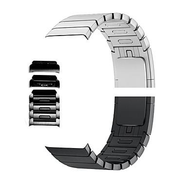 Недорогие Аксессуары для смарт-часов-Ремешок для часов для Серия Apple Watch 5/4/3/2/1 Apple Современная застежка Нержавеющая сталь Повязка на запястье