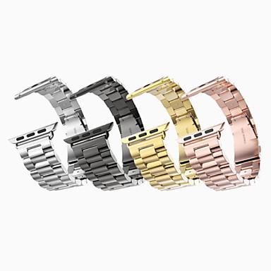 voordelige Smartwatch-accessoires-Horlogeband voor Apple Watch Series 4/3/2/1 Apple Klassieke gesp Roestvrij staal Polsband