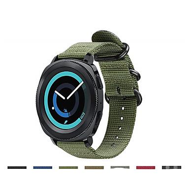 Horlogeband voor Gear Sport / Samsung Galaxy Watch 42 / Samsung Galaxy Active Samsung Galaxy Sportband Stof / Nylon Polsband