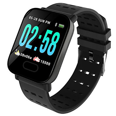 رخيصةأون ساعات الرجال-رجالي ساعة رقمية رقمي سيليكون أسود / أزرق 30 m مقاوم للماء بلوتوث Smart رقمي الخارج موضة - أسود أسود-برتقالي أزرق