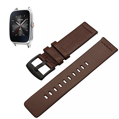cheap Watch Band for ASUS-Watch Band for Asus ZenWatch 2 / Asus ZenWatch Asus Sport Band Genuine Leather Wrist Strap