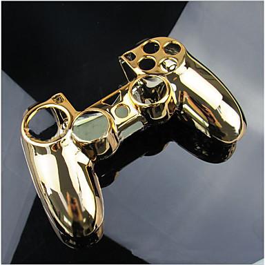 olcso Videojáték tartozékok-teljes burkolatú ház fedelének gombkészlete és teljes gombkészlet a PS4 vezérlő játékvezérlő tok védelmére a ps4 számára