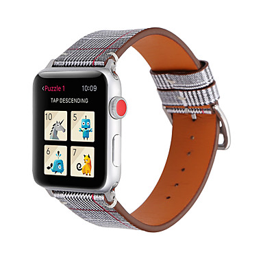 cheap Smartwatch Accessories-Watch Band for Apple Watch Series 5/4/3/2/1 Apple Sport Band / Classic Buckle Genuine Leather Wrist Strap