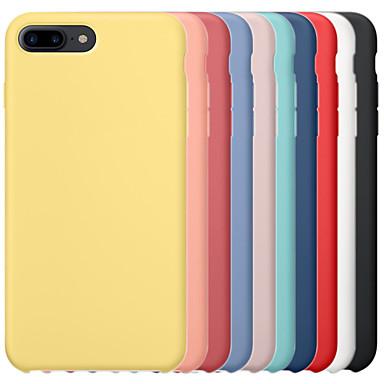 voordelige iPhone-hoesjes-hoesje voor apple iphone 6 / iphone 6 plus iphone 6s iphone7 iphone8 iphone7plusiphone8plus iphone x / xs / xsmas schokbestendige achterkant effen gekleurde harde pc / silicagel voor