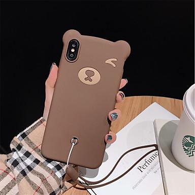 voordelige iPhone-hoesjes-hoesje Voor Apple iPhone XS / iPhone XR / iPhone XS Max Schokbestendig Achterkant Panda Zacht Siliconen