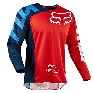 billige Motorcykeljakker-ny rævhovedcykel langrend langærmet shirt hurtigtørrende t-shirt motorcykel mountainbike downhill service hurtigtørrende vest