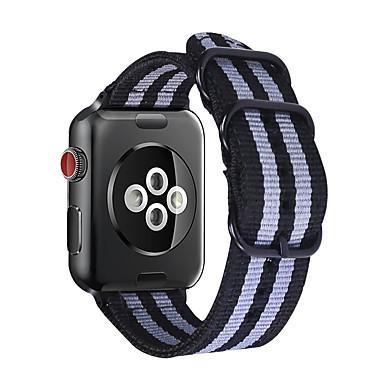 voordelige Smartwatch-accessoires-Horlogeband voor Apple Watch Series 4/3/2/1 Apple Sportband Stof Polsband