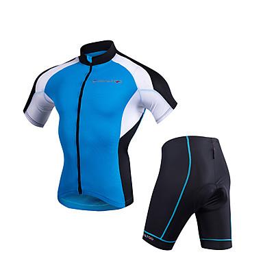 Недорогие Мотоциклетные куртки-Одежда для мотоциклов Короткие рукава для Муж. Полиэстер Лето Эластичный / Дышащий / Защита от солнечных лучей