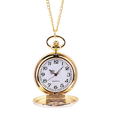 povoljno Džepni satovi-Muškarci Džepni sat Kvarc Zlatna Casual sat Velika kazaljka Analog Ležerne prilike Moda - Zlato