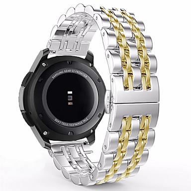 Недорогие Ремешки для часов Huawei-Ремешок для часов для Huawei Watch Huawei Спортивный ремешок Металл / Нержавеющая сталь Повязка на запястье