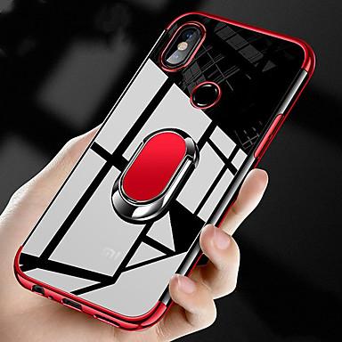 povoljno Maske/futrole za Xiaomi-magnetski prst prsten auto držač tpu silikonsko kućište za xiaomi redmi go redmi note 7 pro note 7 redmi note 6 pro note 6 redmi note 5pro napomena 5 redmi 6 pro 6a 6 redmi 5 plus 5