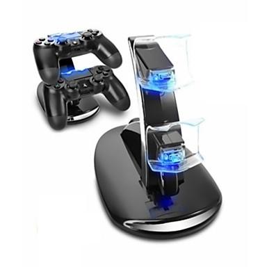 olcso Videojáték tartozékok-töltőállomás tartós led jelzőfények játékvezérlő töltő készlet PS4 / ps4 karcsú / ps4 pro számára