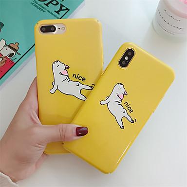 Недорогие Кейсы для iPhone 6 Plus-чехол для яблока iphone xr / iphone xs max шаблон задняя крышка животное / мультфильм жесткий ПК для iphone x xs 8 8plus 7 7plus 6 6s 6plus 6s plus