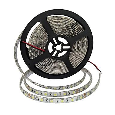 رخيصةأون شرائط ضوء مرنة LED-5m شرائط ضوء led مرنة 300 المصابيح smd5050 10 ملليمتر دافئ أبيض / أبيض / أحمر الزخرفية / مناسبة للسيارات / ذاتية اللصق 24 فولت 1 قطعة / ip65