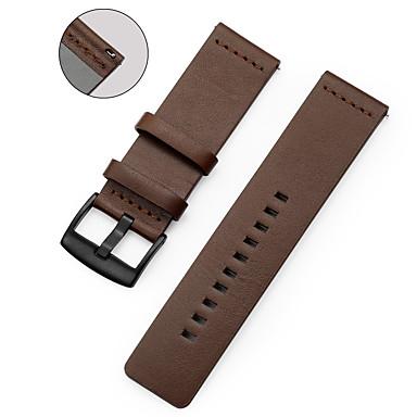Недорогие Watch Bands for LG-Ремешок для часов для LG G Watch W100 / LG G Watch R W110 / LG Watch Urbane W150 LG Спортивный ремешок Натуральная кожа Повязка на запястье