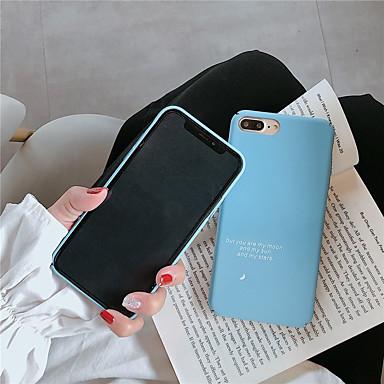 voordelige iPhone-hoesjes-hoesje Voor Apple iPhone XS / iPhone XR / iPhone XS Max Patroon Achterkant Woord / tekst Hard PC