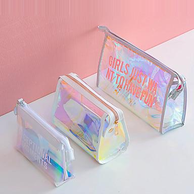 olcso Utazó bőröndök-Vízálló tasakok / Szépségápolási táska Vízálló / Könnyű / Tárolási készlet Mindennapokra / Hordozható PVC Hétköznapi / Szabadtéri gyakorlat / Mindennapokra