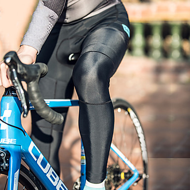 olcso Armwarmers vagy legwarmers & Cipővédő-SANTIC Leg Warmers Mekano Kényelmes Kerékpár / Kerékpározás Fekete Piros Szürke mert Férfi Felnőttek Szabadtéri gyakorlat Kerékpár Egyszínű / Mikroelasztikus