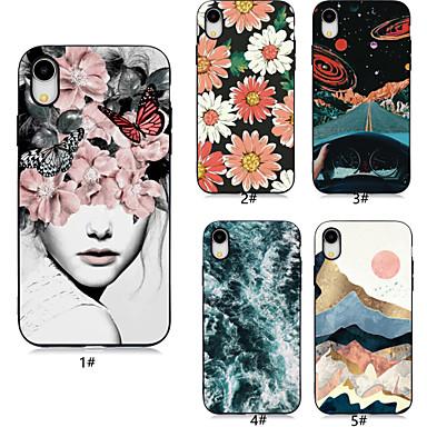 voordelige iPhone X hoesjes-hoesje voor apple iphone xr / iphone xs max patroon achterkant bloem / landschap zachte tpu voor iphone 6/6 plus / 6s / 6s plus / 7/7 plus / 8/8 plus / x / xs