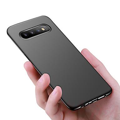 غطاء من أجل Samsung Galaxy S9 / S9 Plus / S8 Plus ضد الصدمات / نحيف جداً / مثلج غطاء خلفي لون سادة قاسي الكمبيوتر الشخصي