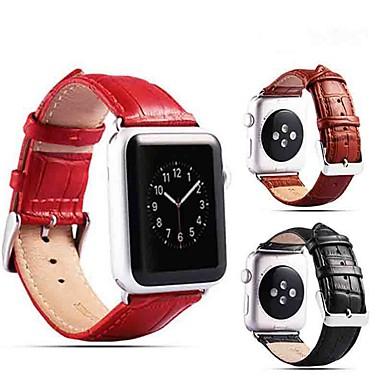 povoljno Apple Watch remeni-Pogledajte Band za Apple Watch Series 4/3/2/1 Apple Klasična kopča Prava koža Traka za ruku